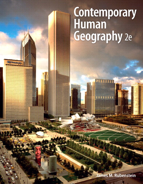 Contemporary Human Geography, CourseSmart eTextbook, 2nd Edition