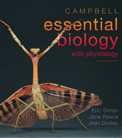 Campbell Essential Biology with Physiology, CourseSmart eTextbook, 4th Edition