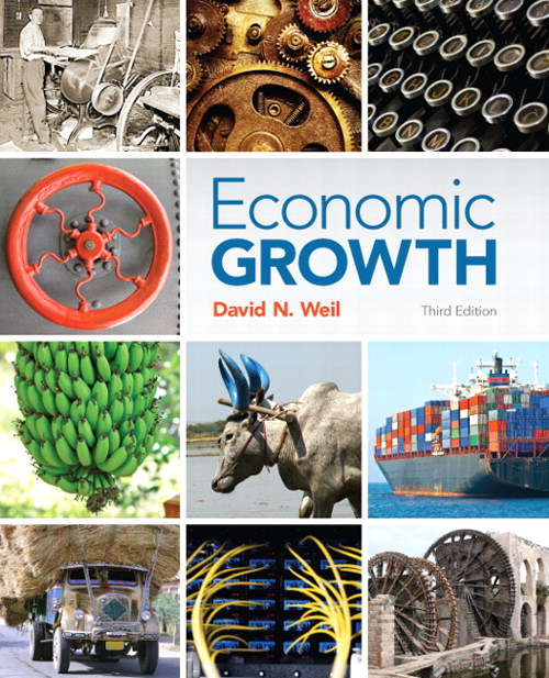 Economic Growth, CourseSmart eTextbook, 3rd Edition
