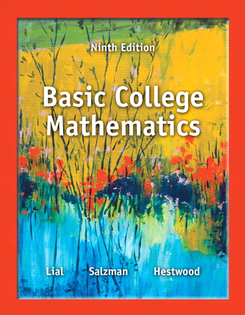 Basic College Mathematics, CourseSmart eTextbook, 9th Edition