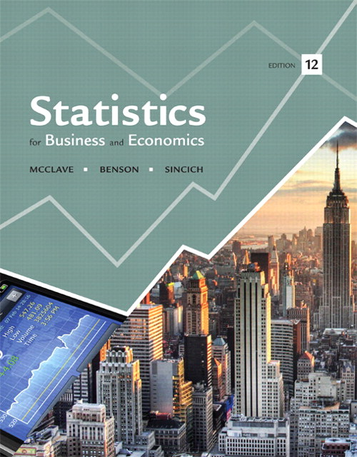 Statistics for Business and Economics, CourseSmart eTextbook, 12th Edition