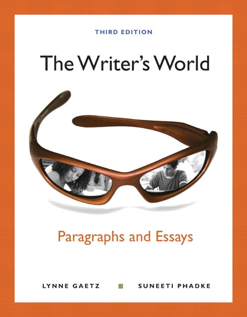 Writer's World, The: Paragraphs and Essays with NEW MyWritingLab with eText -- Access Card Package, 3rd Edition