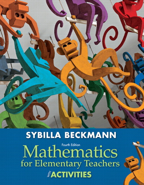 Mathematics for Elementary Teachers with Activities, CourseSmart eTextbook, 4th Edition