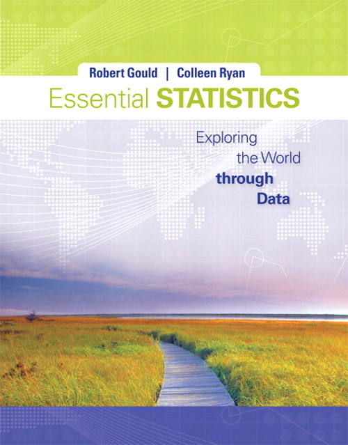 Essential Statistics, CourseSmart eTextbook