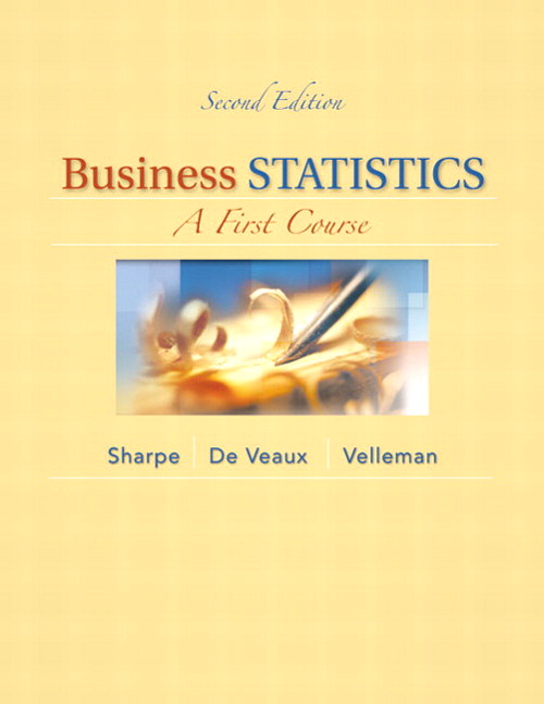 Business Statistics: A First Course, CourseSmart eTextbook, 2nd Edition