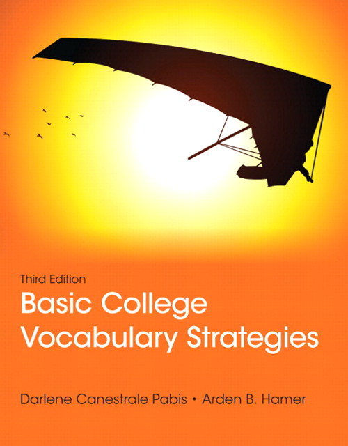Basic College Vocabulary Strategies, CourseSmart eTextbook, 3rd Edition