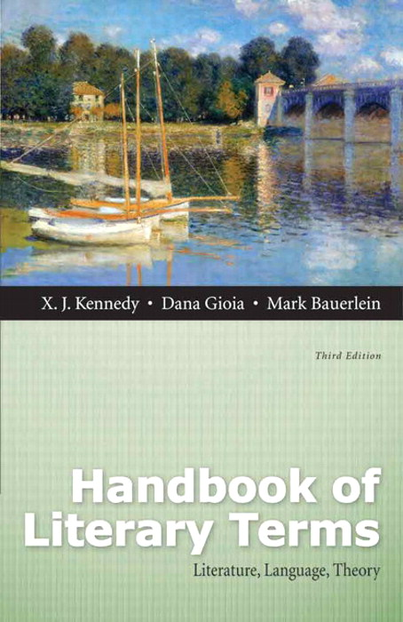 Handbook of Literary Terms: Literature, Language, Theory, 3rd Edition