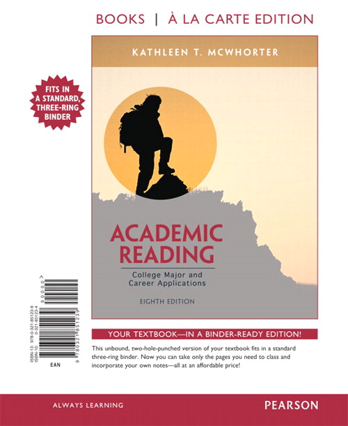 Academic Reading, Books a la Carte Edition, 8th Edition
