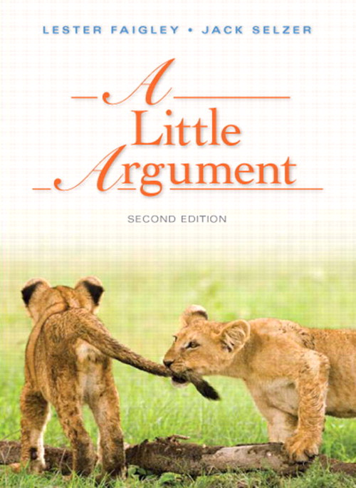 Little Argument, A, 2nd Edition