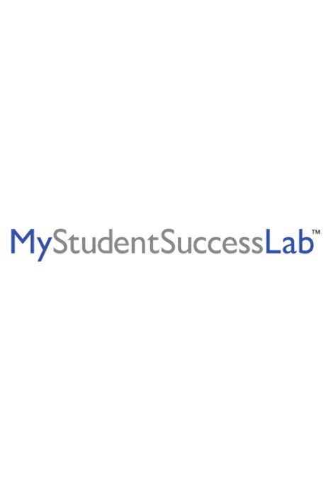 NEW MyStudentSuccessLab 2012 Update without Pearson eText -- Instant Access