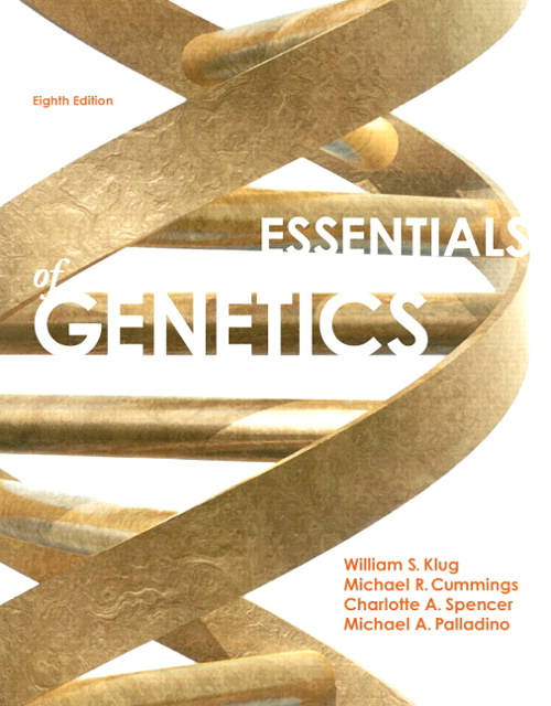 Essentials of Genetics, CourseSmart eTextbook, 8th Edition