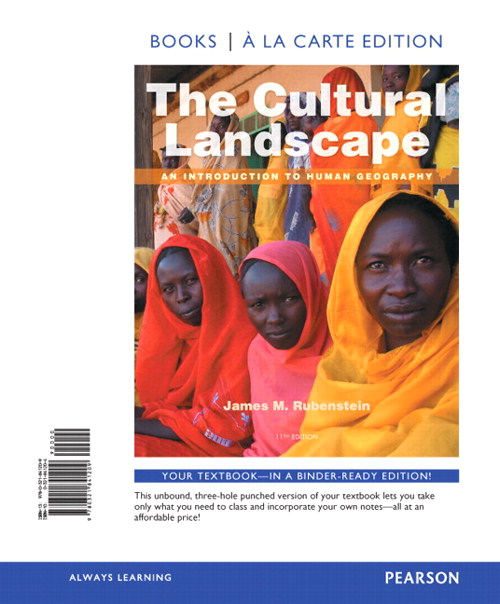 Cultural Landscape, The: An Introduction to Human Geography, Books a la Carte Plus Mastering Geography with eText -- Access Card Package, 11th Edition