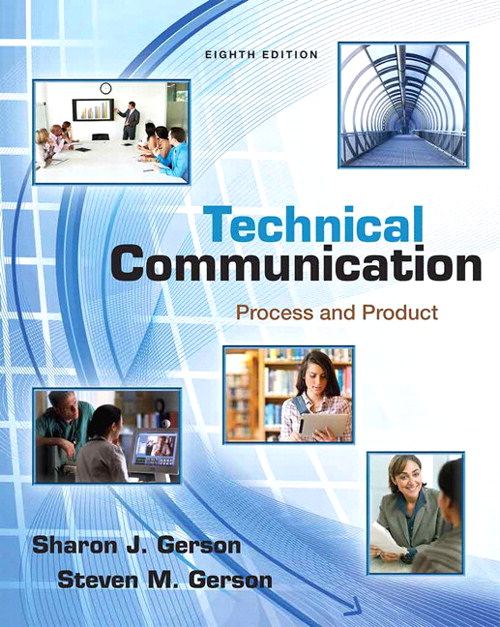 Technical Communication: Process and Product, 8th Edition