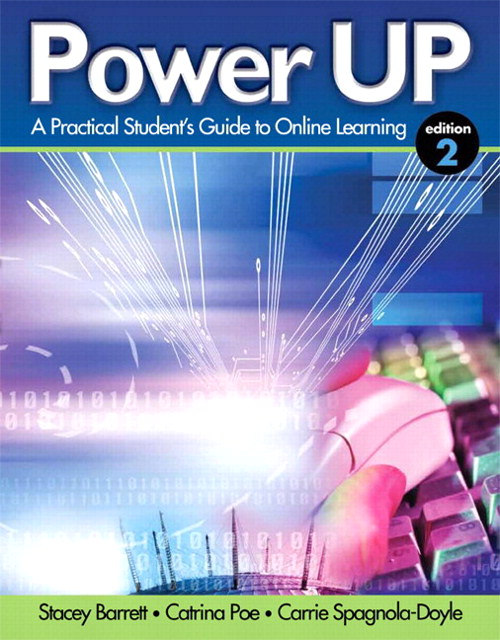 Power Up: A Practical Student's Guide to Online Learning Plus NEW MyStudentSuccessLab 2012 Update -- Access Card Package, 2nd Edition
