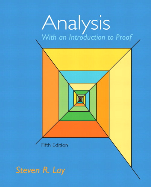 Analysis with an Introduction to Proof, CourseSmart eTextbook, 5th Edition