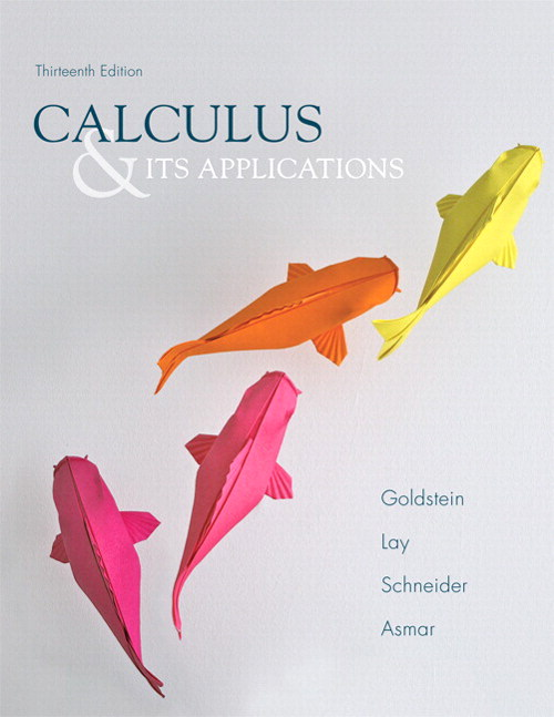Calculus & Its Applications Plus NEW MyLab Math with Pearson eText -- Access Card Package, 13th Edition