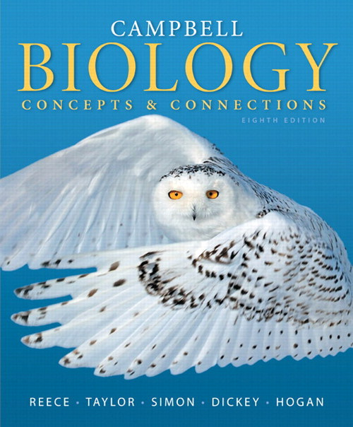 Campbell Biology: Concepts & Connections, CourseSmart eTextbook, 8th Edition