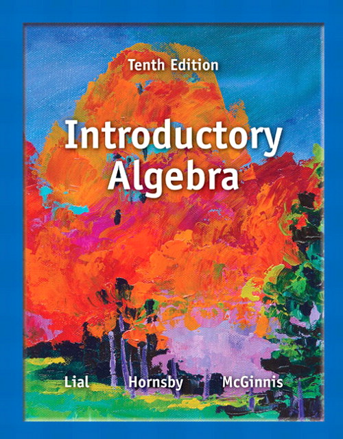 Introductory Algebra, 10th Edition
