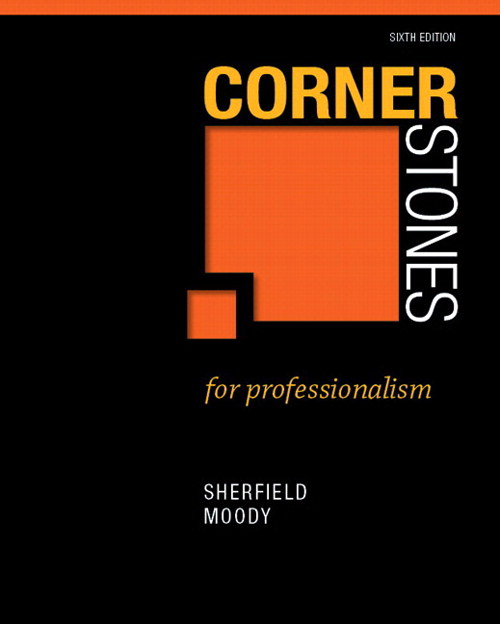 Cornerstones for Professionalism Plus NEW MyStudentSuccessLab 2012 Update -- Access Card Package, 2nd Edition