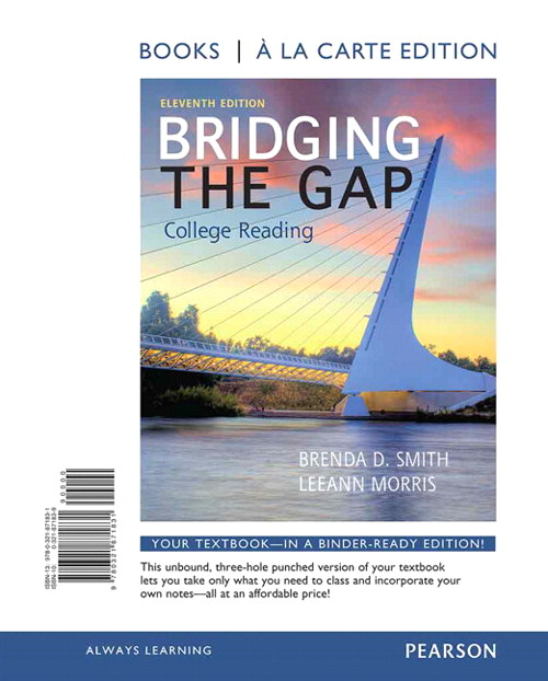 Bridging the Gap, Books a la Carte Edition, 11th Edition