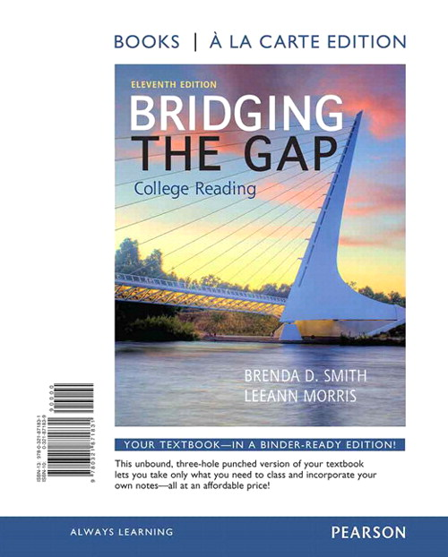 Bridging the Gap, Books a la Carte Plus NEW MyReadingLab with eText -- Access Card Package, 11th Edition