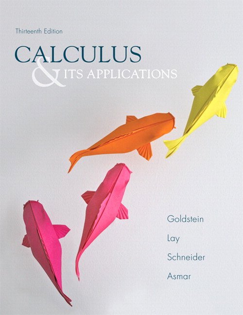 Calculus and Its Applications, CourseSmart eTextbook, 13th Edition