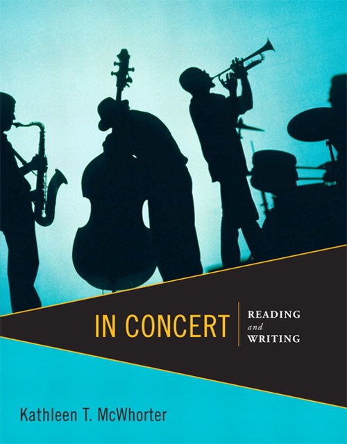 In Concert: Reading and Writing, CourseSmart eTextbook