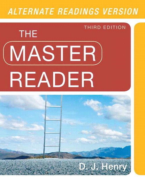 The Master Reader, CourseSmart eTextbook, 3rd Edition