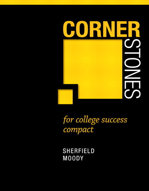 Cornerstones for College Success Compact Plus NEW MyStudentSuccessLab 2012 Update -- Access Card Package