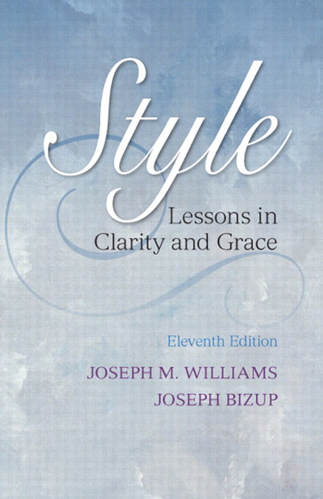 Style: Lessons in Clarity and Grace, 11th Edition