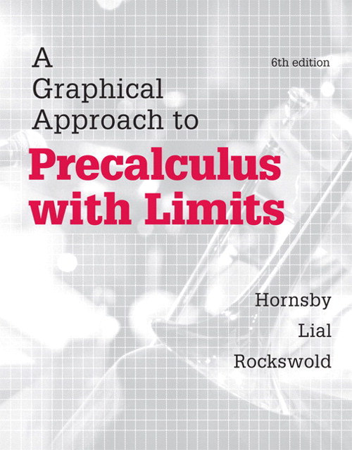 Precalculus with Limits, CourseSmart eTextbook, 6th Edition