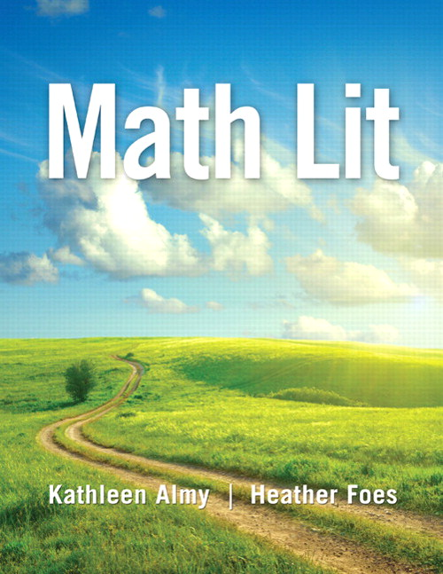 Math Lit, CourseSmart eTextbook