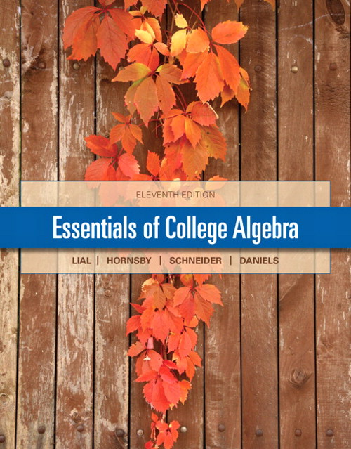 Essentials of College Algebra, CourseSmart eTextbook, 11th Edition