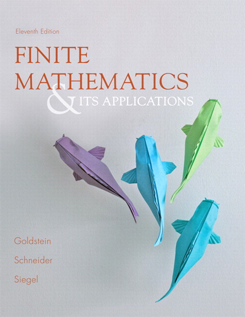 Finite Mathematics & Its Applications Plus NEW MyLab Math with Pearson eText -- Access Card Package, 11th Edition