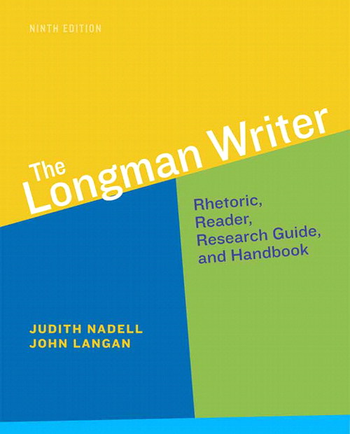 Longman Writer, The, 9th Edition