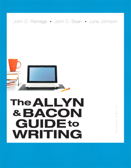 Allyn & Bacon Guide to Writing, The, CourseSmart eTextbook, 7th Edition