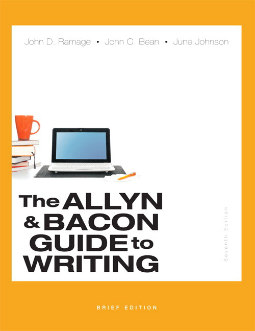 The Allyn & Bacon Guide to Writing, Brief Edition, CourseSmart eTextbook, 7th Edition