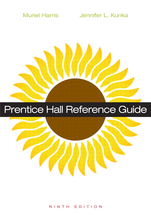 Prentice Hall Reference Guide, 9th Edition