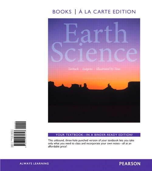 Earth Science, Books a la Carte Edition, 14th Edition