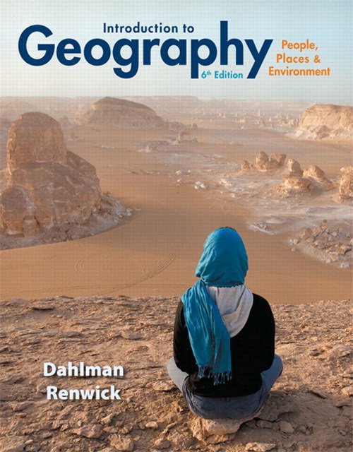 MasteringGeography with Pearson eText -- Instant Access -- for Introduction to Geography: People, Places & Environment, 6th Edition
