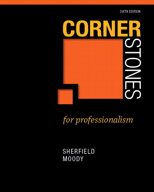 Cornerstones for Professionalism Plus NEW MyStudentSuccessLab  Update -- Access Card Package, 2nd Edition