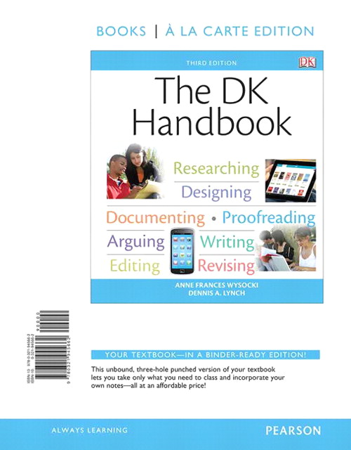 The DK Handbook, Books a la Carte Edition, 3rd Edition