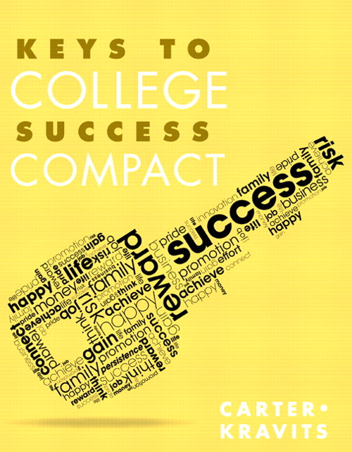 Keys to College Success Compact Plus NEW MyStudentSuccessLab  Update -- Access Card Package