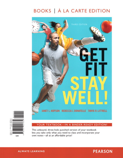 Get Fit, Stay Well! Books a la Carte Edition, 3rd Edition