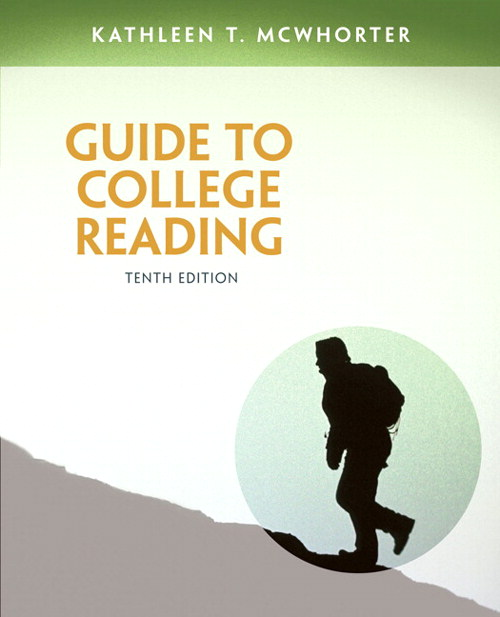 Guide to College Reading, CourseSmart eTextbook, 10th Edition