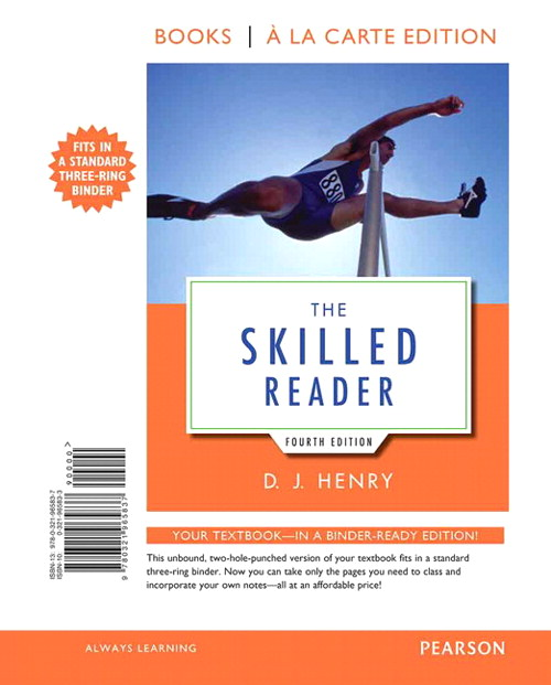 The Skilled Reader, Books a la Carte Edition, 4th Edition