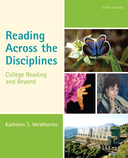 Reading Across the Disciplines: College Reading and Beyond Plus NEW MyReadingLab with eText -- Access Card Package, 6th Edition