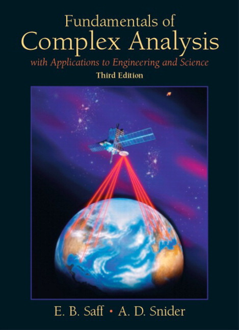 Fundamentals of Complex Analysis: with Applications to Engineering and Science,  Coursesmart eTextbook, 3rd Edition