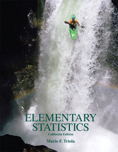 Elementary Statistics, California Edition w/ CD