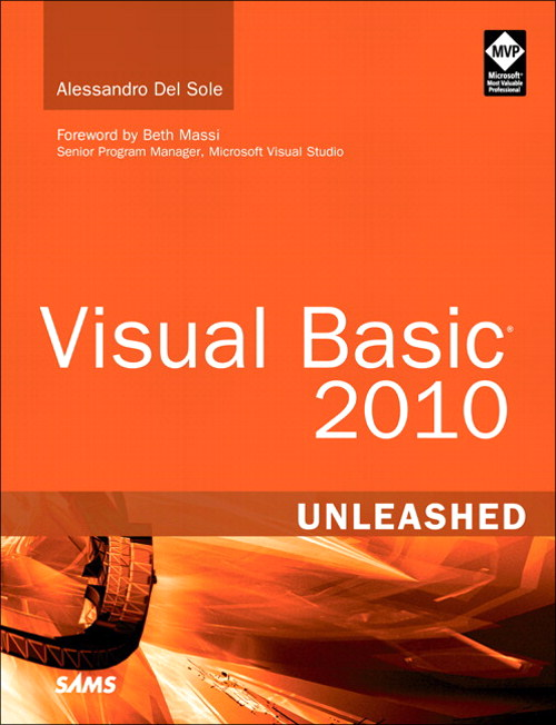 Visual Basic 2010 Unleashed, Safari
